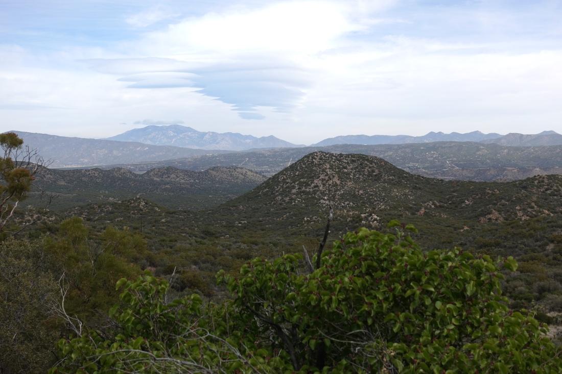 Lenticular Clouds Over Jacinto