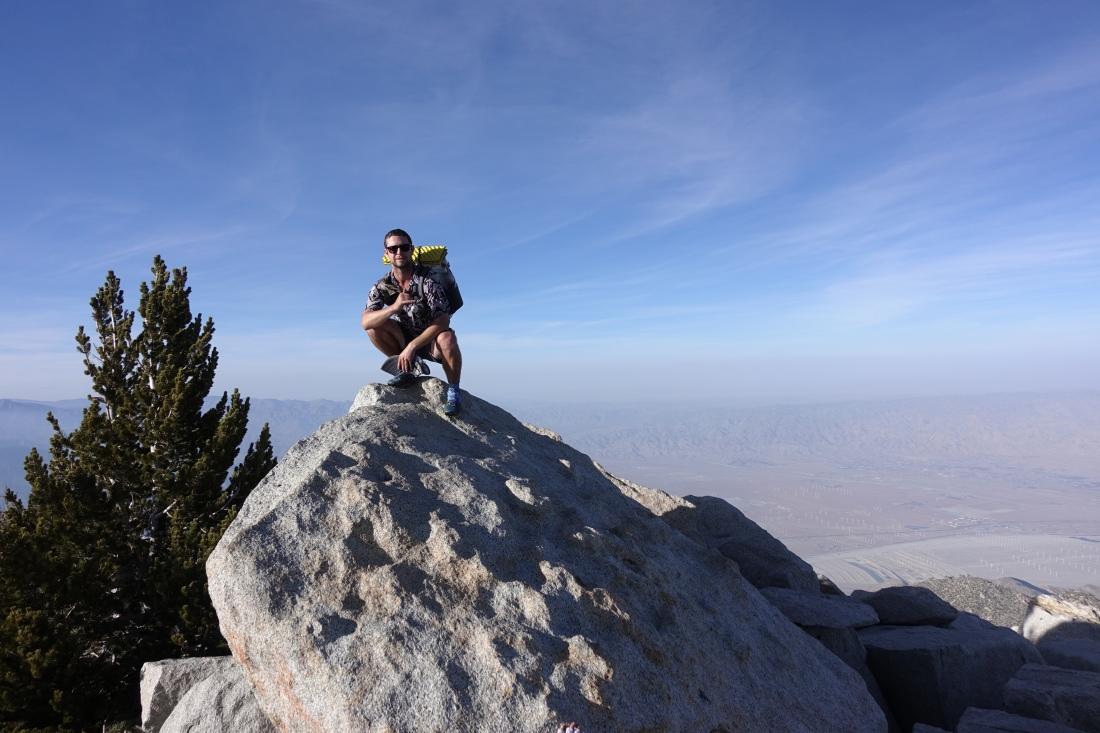 Mt San Jacinto Peak