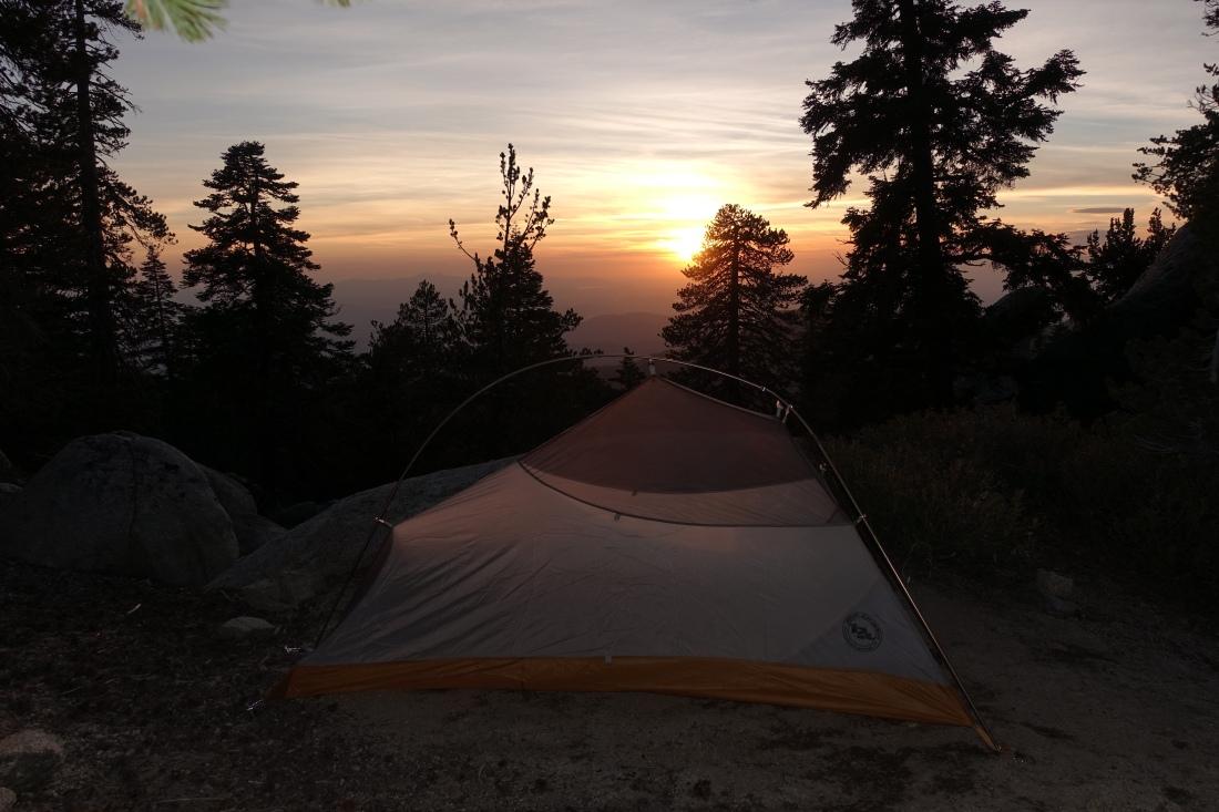 Sunset on Jacinto